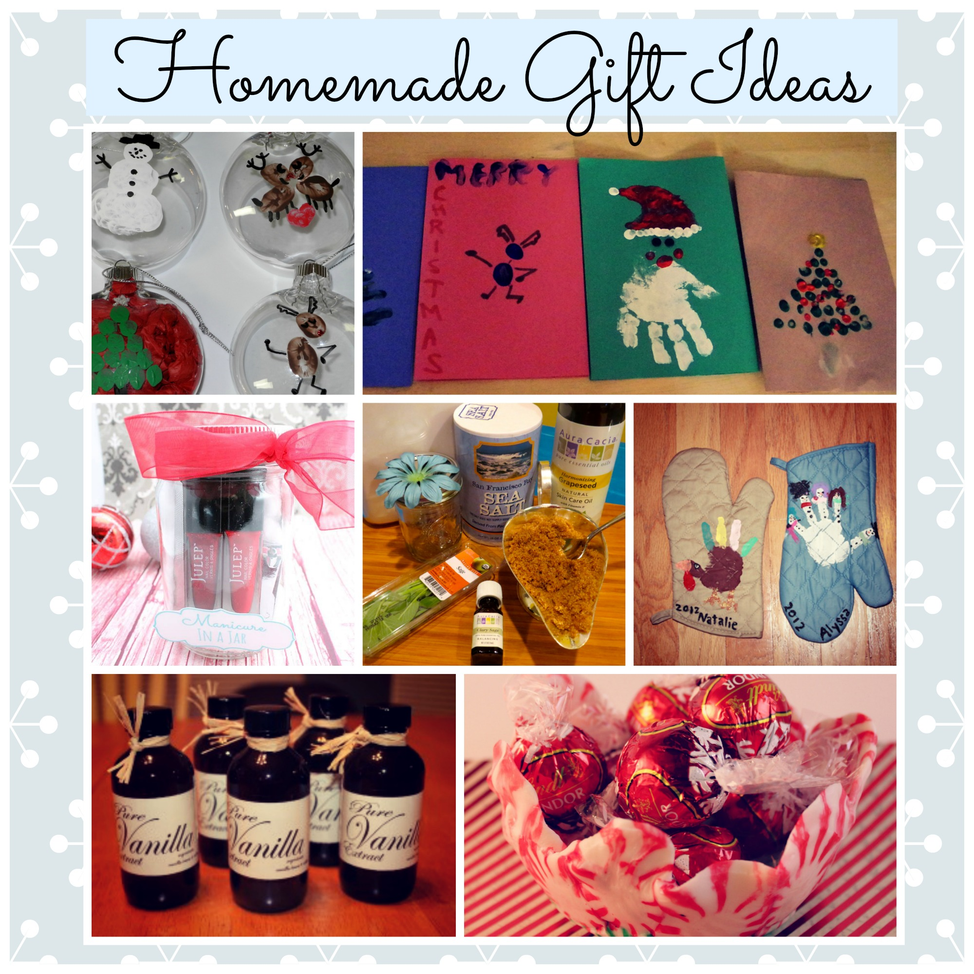 Homemade gift ideas for women for Diy gift ideas for women