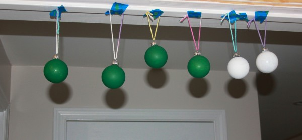 ornament balls hanging