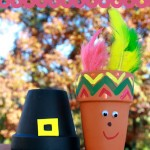 thanksgiving clay pots