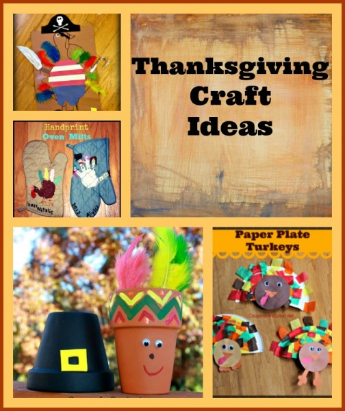 thanksgiving craft ideas collage