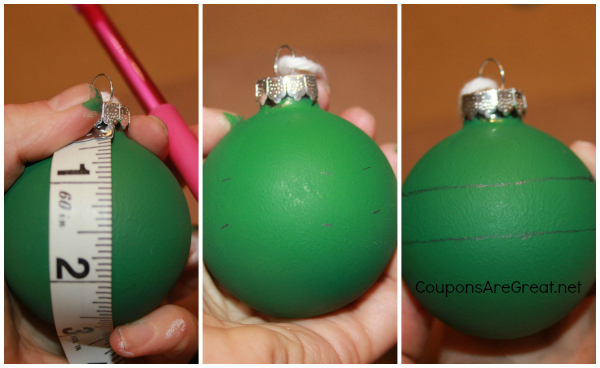 tmnt ornament balls measurement