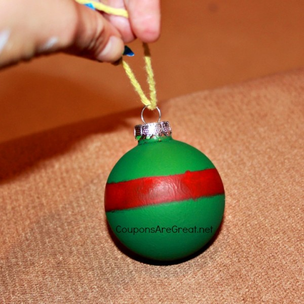 tmnt ornament line painted