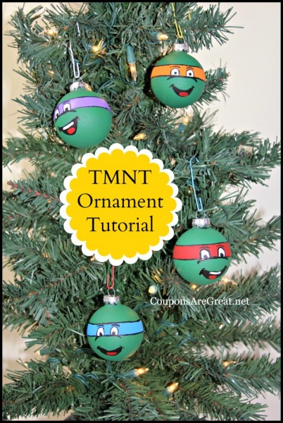 tmnt ornament tutorial