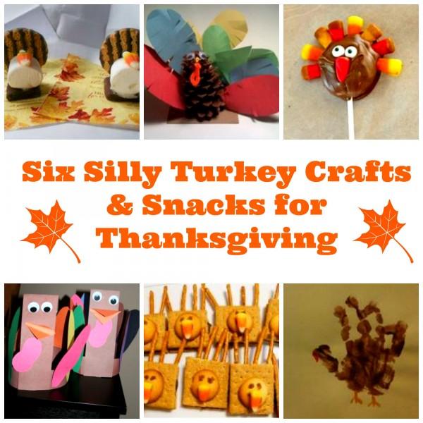 Turkey Crafts and Snacks