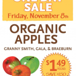 Whole Foods: Organic Apples Only $1.00 Per Pound Today Only