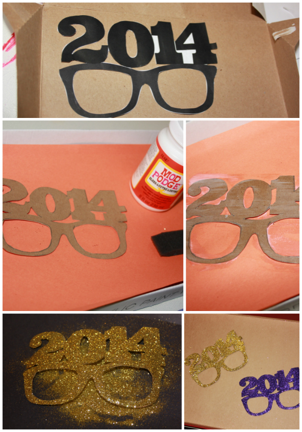 2014 New Years Eve Photo Booth Glases