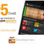 amazon app store credit