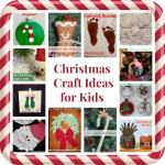 Christmas Crafts for Kids Round Up: Ornaments, Canvas, Construction Paper, and More