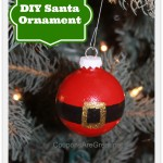 DIY Santa Ornaments to Make for Christmas