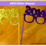 glitter glasses tutorial