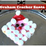 Class Party Recipes: Graham Cracker Santa