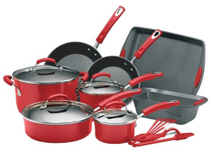 rachael ray red cookware  sc 1 st  Coupons Are Great & Rachael Ray Dinnerware Set: Only $11.99 (After Gift Card)