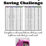 52 week money saving challenge small
