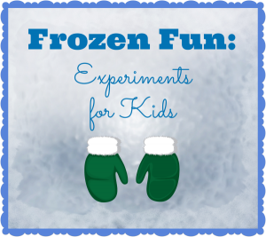 Frozen science experiments for kids are always a fun treat.
