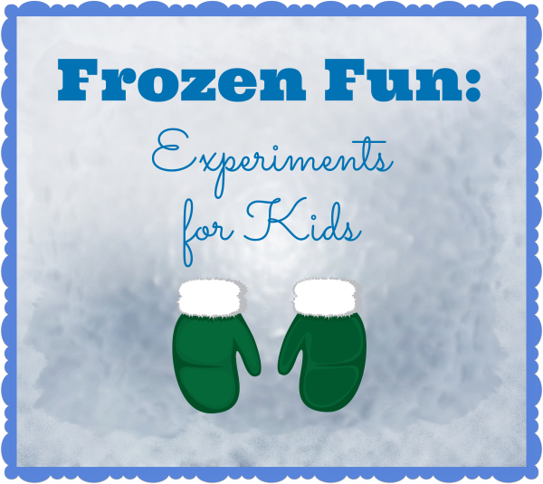 When the weather turns chilly, bring out frozen fun science experiments for kids. They will LOVE these ideas!