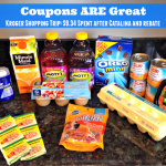 My Kroger Shopping Trip Using Coupons, Rebates, and More