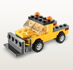 lego snowplow