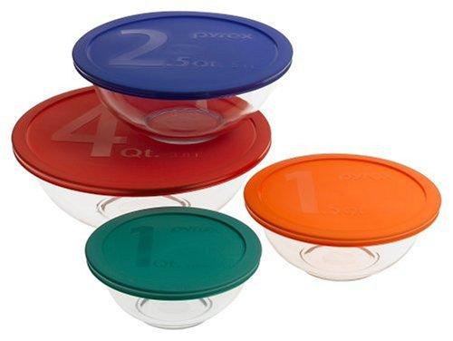 pyrex essentials 8 piece