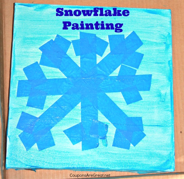 snowflake painting 3