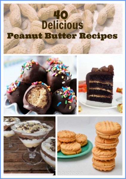 40 delicious peanut butter recipes