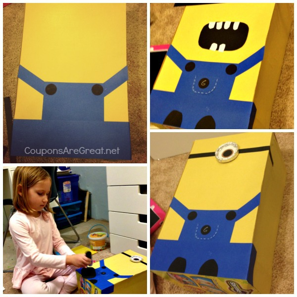 minion making collage