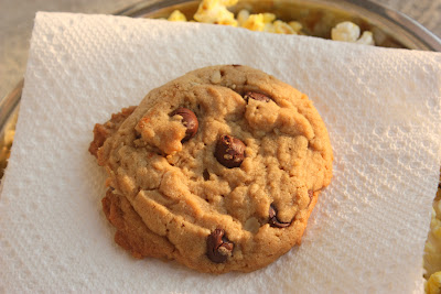 peanut butter oatmeal chocolate chip cookie