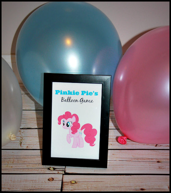 pinkie pie birthday party game