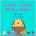 100 Amazing Easter Basket Filler Ideas That Are Not Candy