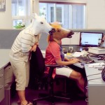 Add Humor to Your Day with a Horse Head Mask