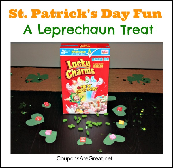 Leprechaun treats are a fun surprise!