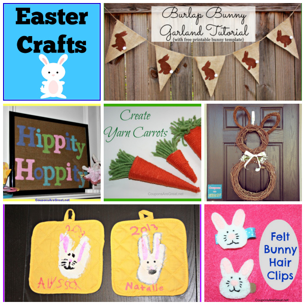 Easter Crafts collage