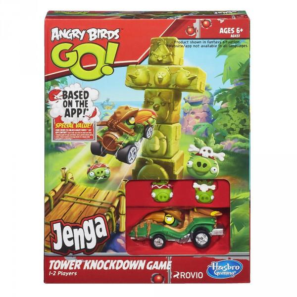 angry birds jenga game