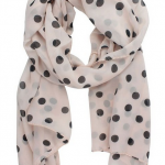 Accessorize with an Affordable Polka Dot Scarf or Two