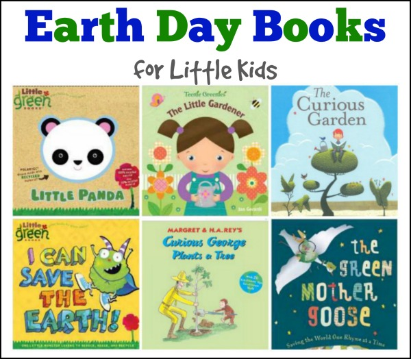 earth day books for little kids