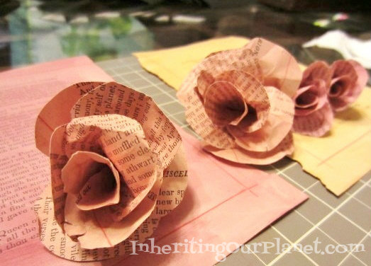 earth day craft Water color flowers