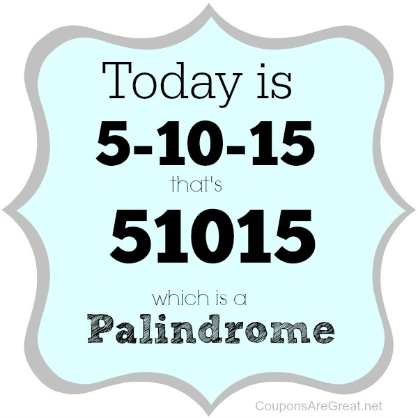 palindrome-week-51015
