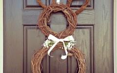 Easter Craft: Easy Bunny Door Wreath Craft