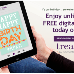 treat free digital card