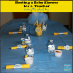 hosting a baby shower for a teacher during school ideas