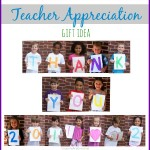 End of the School Year Gift: Teacher Thank You Collage