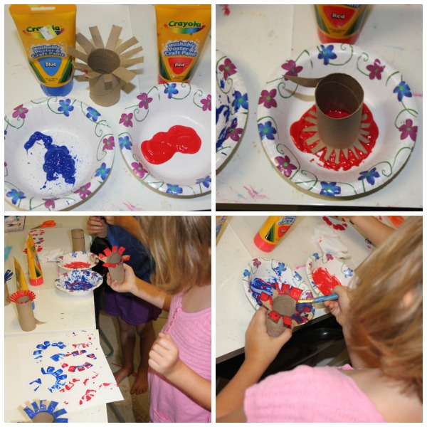 firework craft for kids