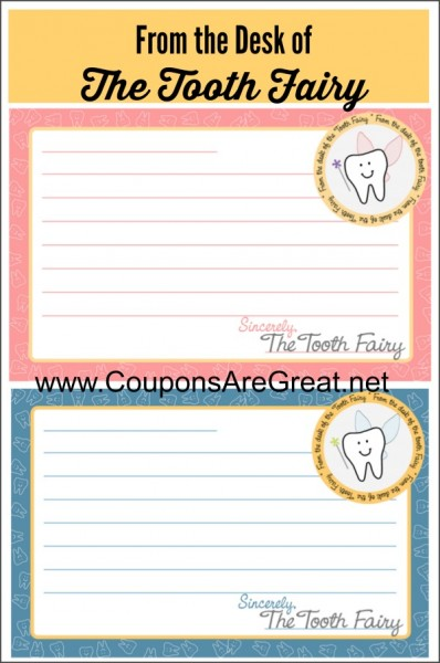 Tooth fairy traditions free printable tooth fairy letterhead for from the desk of the tooth fairy printable letterhead spiritdancerdesigns Image collections
