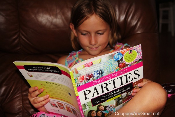 kids planning perfect parties