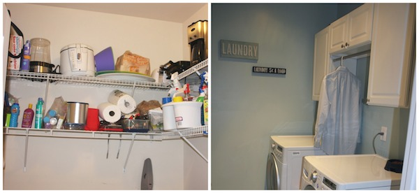 Laundry Shelves Comparison A Hanging Rod