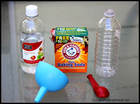 Science Experiments for Kids: Blow up a Balloon with Vinegar ...