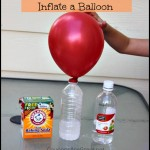 science for kids inflate a balloon