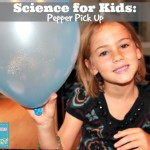 science for kids pepper pick up balloon