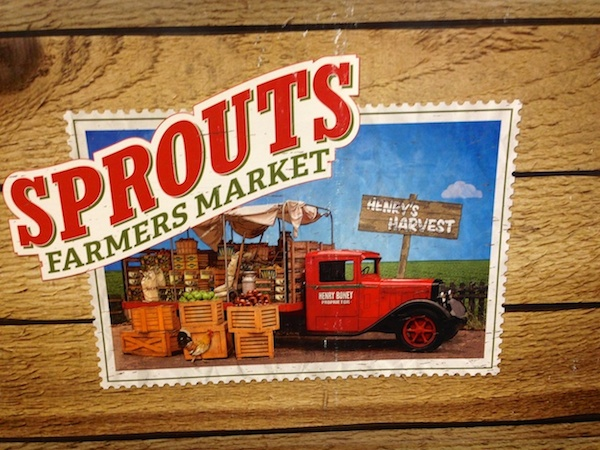 sprouts farmers market sign