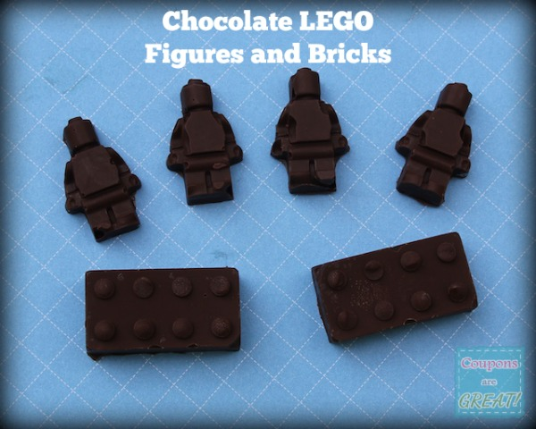 If you have a LEGO fan at your house...turn their obsession into chocolate candies...or soaps...or crayons...or fruit snacks. The list goes on and on!
