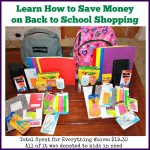 Learn How to Save Money on Back to School Shopping and Give to Kids in Need